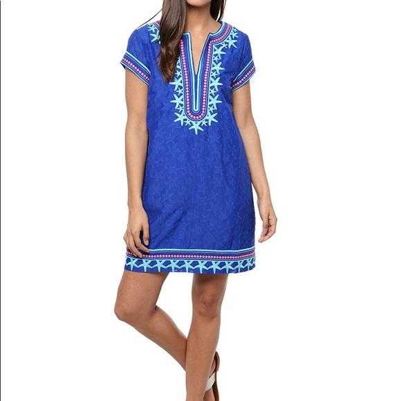 586f8a2696c Vineyard Vines Dresses | Starfish Embroidered Tunic Dress | Poshmark